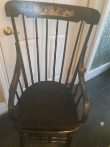 Antique/Vintage Adult Commode Chair