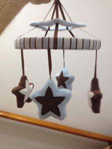 STARS On The Go Musical Mobile/ Nursery mobiles / for Baby