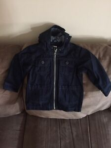 Various size fall and winter jackets