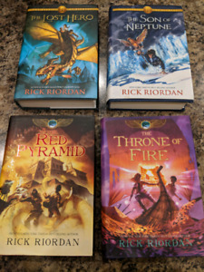 4 Kids Novels -Rick Riordan