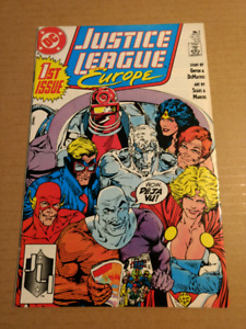 Justice League Europe #1 VF/NM 1989
