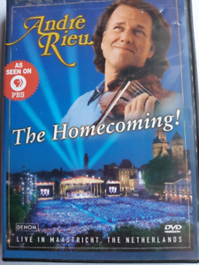 "PBS, ""Andre Rieu, The Homecoming"" concert dvd"