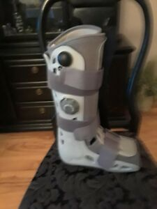 Cain, Child Crutches and Adult Air Cast Boot