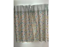 Children's curtains w117cm x d137cm
