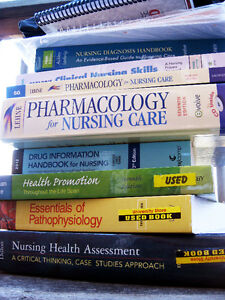 Selling Nursing Textbooks Used by Brock University, years 1-4