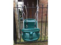 Toddler swing seat £15 Ono