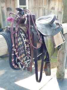 Selle western 15 pouces