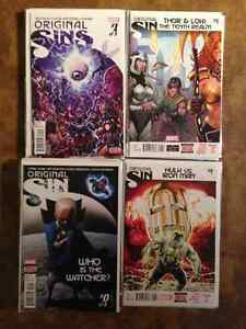 Original Sin  Complete Marvel Event #0-8 with tie ins