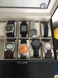 Lot of used watches