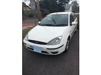 White Ford Focus 1.8 Diesel- 52 plate