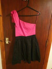 Black And Pink Dress Rise Size 8