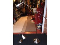 Free standing lamp and matching table lamp brand new from next