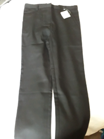 Boys black trousers age 10 - 11 new