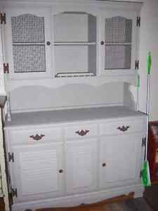 Refinished Hutch Cabinet