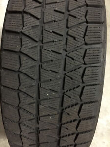 FOR SALE - 2 BRIDGESTONE BLIZZAAK  WINTER TIRES