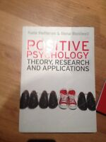 Positive Psychology: Theory, Research and application