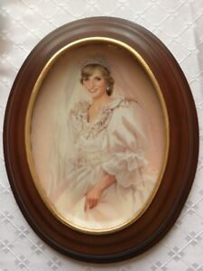 "Bradford Exchange, Lady Diana ""The People's Princess"" Plate & Fr"