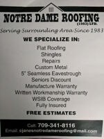 Notre Dame Roofing