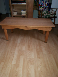 Coffee table and 2 end tables.