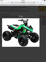 Look for a atv for kids!! good condition!! Good price!!