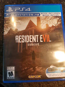 Resident Evil Biohazard for sale or trade for Dirt 4