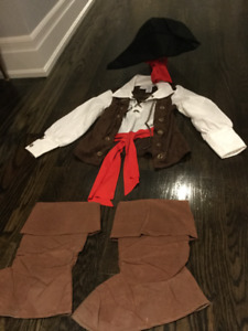 Authentic Kids Pirate & Cat in The Hat Costume- Dr. Seuss
