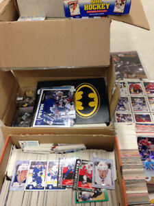 Thousands of Sports Cards - Mostly Hockey - Laine, Matthews...