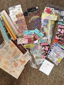 Scrap booking supplies