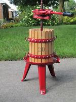 Wine Press--Like New