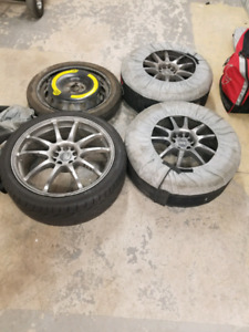 18 inch Audi rims 135$, only 3 of them