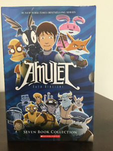 The AMULET book series  for youth