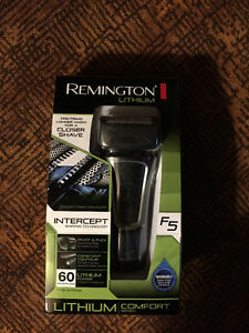 Brand New Remington Lithium F5 Electric Razor