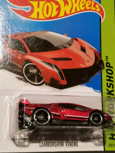 New Hotwheels Lambo Veneno red for sell
