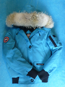 CANADA GOOSE chilliwack bomber jacket in blue topaz SMALL