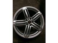 Audi A4 b8 genuine 19 inch segment alloy wheel for sale nearly new