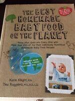 Homemade baby food cookbook