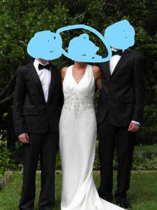 Beautiful wedding dress, perfect condition size 8 - 9