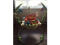 New condition fisher price jumperoo