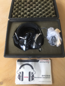 Koss Electrostatic Headphones ESP-6 w/case