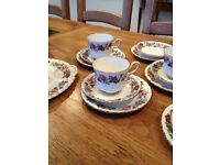 Royal Stafford bone china vintage tea set