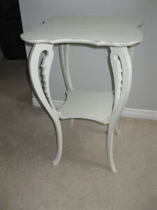 SHABBY CHIC LAMP TABLE REDUCED TO 30.00