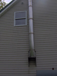 House flue in good condition