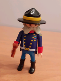 Playmobil 6273 and 6274 Union soldiers and General