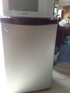 GE Stainless steel mini fridge