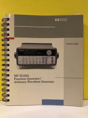 Hp 33120-90005 33120a Function Generatorarbitrary Waveform Generator User Guide