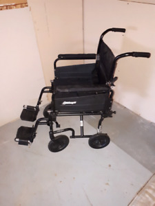 Airgo foldable wheel chair/  transporter