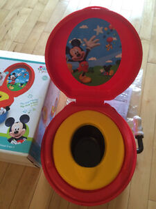 The First Years 3-In-1 Potty System, Mickey Mouse Toilette