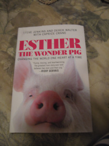 Esther the Wonder Pig Book New