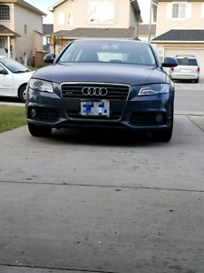 Audi A4 excellent condition and low kms for sale.