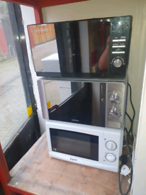 Selection of microwaves £25 a piece